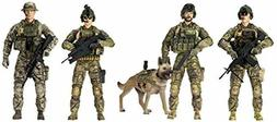 Elite Force Army Ranger Action Figure 5 Pack Military Figuri