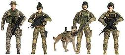 Elite Force Army Rangers 5 Pack Figures Toys Collection  Act