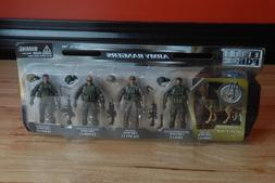 Sunny Days Entertainment Elite Force Army Rangers 5 Pack Fig