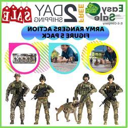 Ess Elite Force Army Rangers Action Figure Articulation Mach