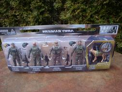 Elite Force Army Rangers Action Figures Set by Sunny Days #1