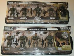 Elite Force Army Rangers and NAVY SEALS 5 Pack + Exclusive's