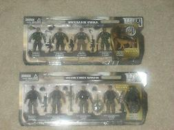 ELITE FORCE Army Rangers + Marine Corps Recon Action Figure