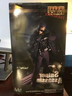 Elite Force BBI Sniper Assassin Lucifer 12 inch figure MIB D