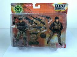BBi Elite Force Combat Command 1/18 Twin figure set - Night
