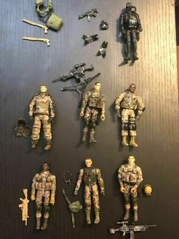 Bbi Elite Force LOT OF 7 with Accessories
