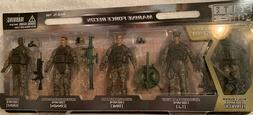 Elite Force Marine Force Recon 4in Figures 5-Pack New in Pac