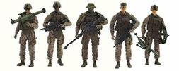 Elite Force Marine Recon Action Figure 14 Points of Articula