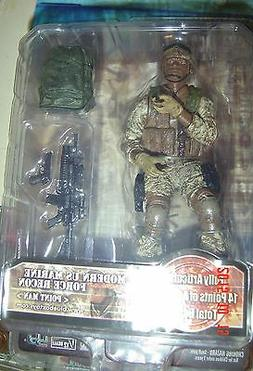 Elite FORCE Military ACTION Figure US Marine Force RECON Poi