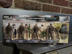 """Elite Force Military Action Figures"""" Marine Force Recon"""" 4 p"""