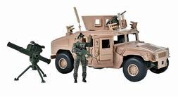 Elite Force Military M1114 Up-Armored Humvee Machine Gun & T