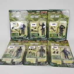Elite Force Navy Seals Action Figures New On Card 1:18 Scale