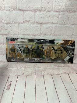 Elite Force Special Ops navy Seals & Delta Force 1:18 Scale