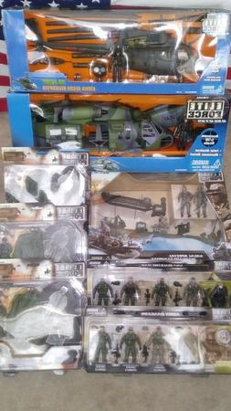 * BBI Elite Force US Army Rangers Navy Seals 1:18 scale mixe