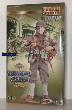 "Elite Force WWII 5th US Army Rangers Sergeant ""Hoppy"" Bell W"