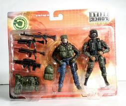 BBi Elite Forces Combat Command 1/18 Twin Figure Set Force R