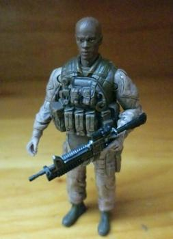 "Elite Forces Marine Recon Radio Man Grunt 3.75"" Action Figur"