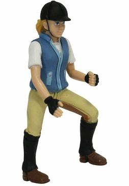 Bullyland Equestrian Horse Rider Nina Action Figure #73565 S