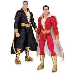 DC Collectibles Essential: Shazam and Black Adam Action Figu
