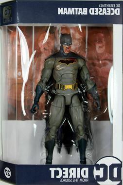 """DC Essentials DCeased Batman 7"""" figure IN HAND"""