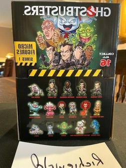 Factory sealed case of 24 GHOSTBUSTERS CRYPTOZOIC  Blind bag