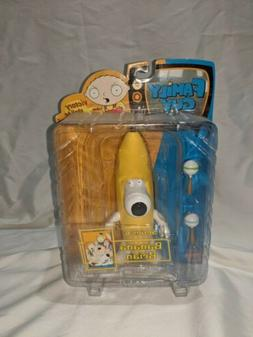 Family Guy Banana Brian Action Figure Series 6 MIB RARE Mezc
