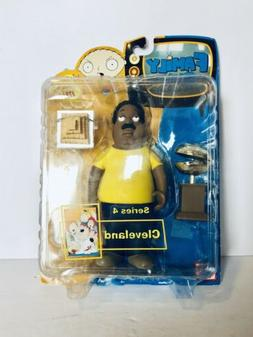 "Family Guy Cleveland Brown Series 4 Action Figure 6"" Scale M"