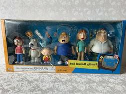 Mezco Family Guy Deluxe Boxed Set of 6 Action Figures Dolls,