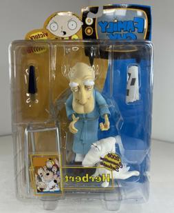 Family Guy Herbert Action Figure MIB Rare 2006 Comic Con Exc