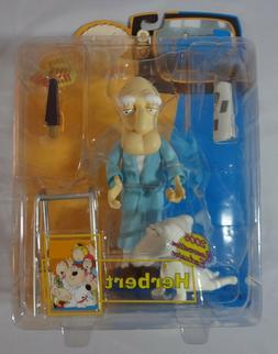 Family Guy Herbert Action Figure Rare 2006 Comic Con Exclusi