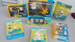 FAMILY GUY MEZCO LOT OF ACTION FIGURES BRAND NEW IN BOXES