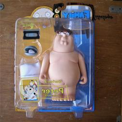 MEZCO FAMILY GUY SERIES 2 PETER IN BUFF ACTION FIGURE BRAND