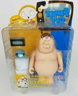Family Guy Series 2 Peter in the buff Mezco Action Figure