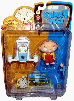 Family Guy Mezco Series 6 Action Figure Stewie 2.0
