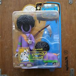 MEZCO FAMILY GUY SERIES 7 GROOVY DEATH ACTION FIGURE BRAND N