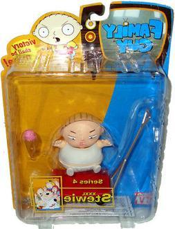 Family Guy XXXL Stewie Action Figure Series 4 Mezco Toy-NIB