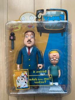 MEZCO FAMILY GUY Tom and Jake Tucker Series 4 Action Figures