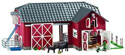 Schleich 72102 Barn with Animals and Accessories Action Figu