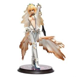 """Fate Grand Order Saber Nero Wedding Dress 1/8 Scale 8.7"""" Act"""