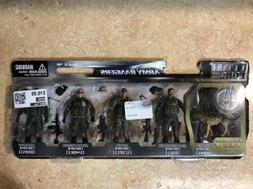 Action Figures 1:18 Scale Elite Force Army Rangers 5 Pack Se