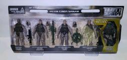 Action Figures 1:18 Scale Elite Force Marine Force Recon. 5