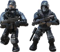 FIGURES #1 & 3 From Call of Duty COD Mega Construx Set FMG14