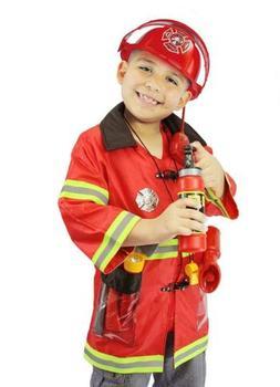 Joyin Toy Kids Fireman Fire Fighter Costume Pretend Play Dre