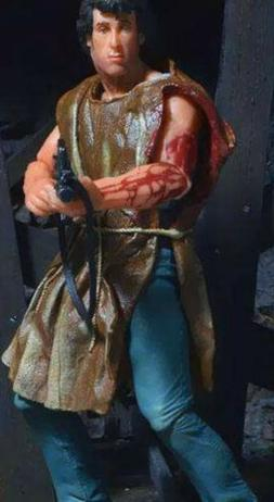 "First Blood JOHN J RAMBO  7""  Action Figure NECA Toys SURVIV"