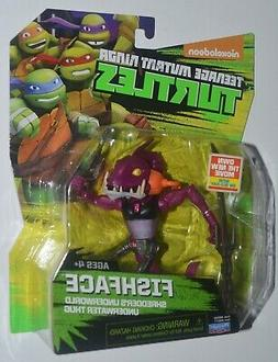 New Teenage Mutant Ninja Turtles Fish Face Action Figure Toy