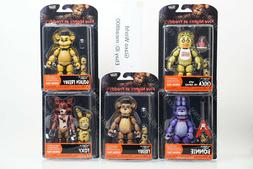 """Funko Five Nights At Freddy's Articulate Action 5"""" Figures F"""