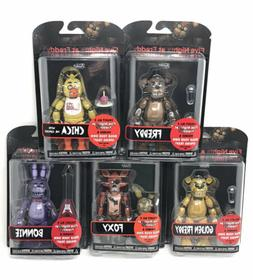 FUNKO FIVE NIGHTS AT FREDDY'S SERIES 1  SET OF 5 ACTION FIGU