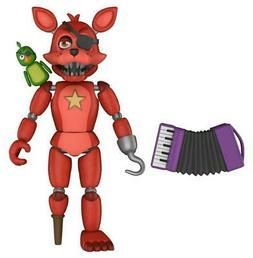 "Five Nights at Freddys 5"" ROCKSTAR FOXY Action Figure Pizz"