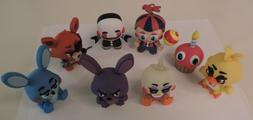FNAF Five Nights at Freddy's Mystery Minis Series 1 Lot of 8