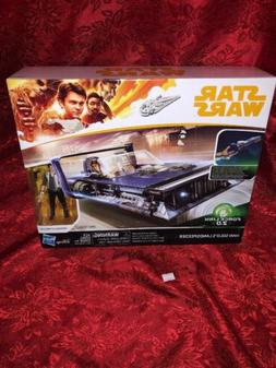 Star Wars Force Link 2.0 HAN SOLO'S LANDSPEEDER AND FIGURE!!